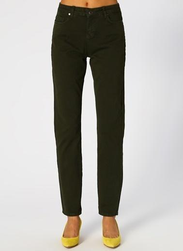 North Of Navy North Of Navy Kadın Skinny Yeşil Pantolon Yeşil